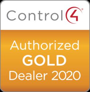 Control4 Authorized Gold Dealer